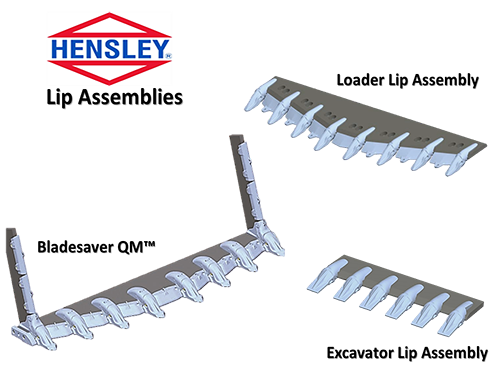 hensley lip assemblies